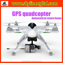 Smart automatically return home GPS quadcopter, Professional drone with HD camera
