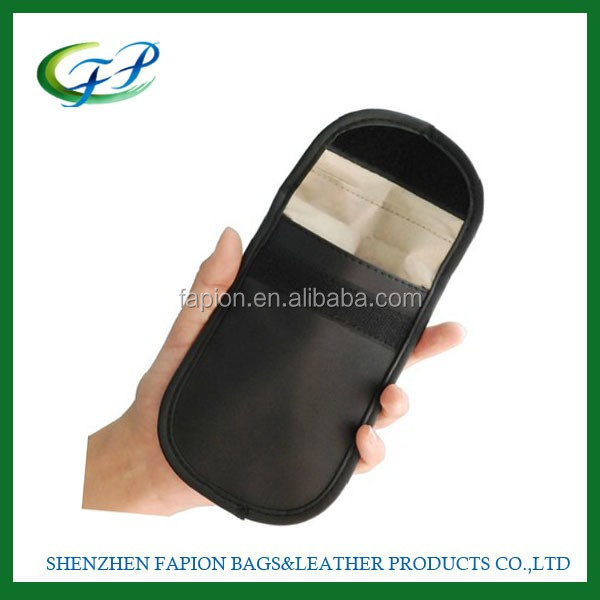 china factory mobile phone accessories radiation shielding cell phone sling bag