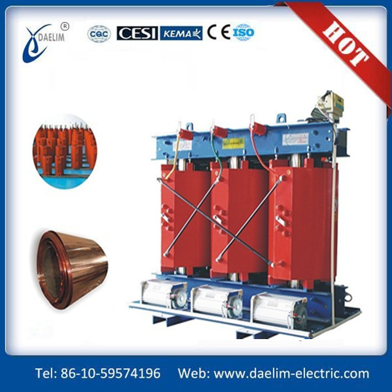 Safe in Running 10kv to 6kv Dry Type Transformer 2500kva with Price