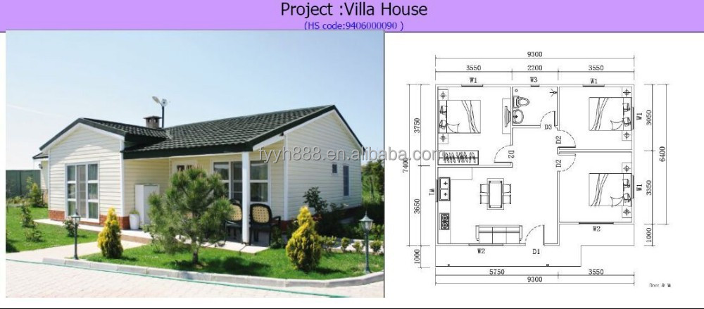 villa house with design