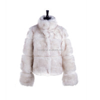 Most popular white fur coat