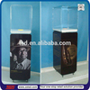 TSD-W255 factory custom free standing liquor and wine display cabinet,display cabinet for alcohol