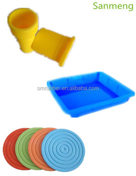 Custom Molded Rubber Products/Rubber Parts