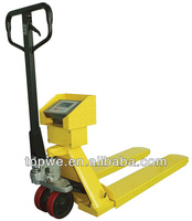 weight scale hand pallet truck