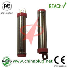 .5mm ID1.35mm 20L Red plastic mobile phone plug