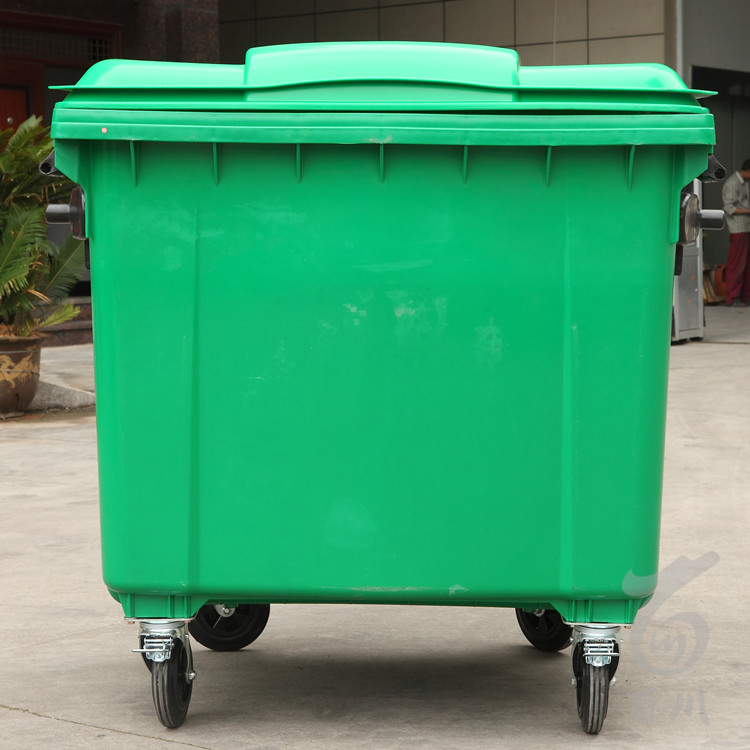 Industrial Garbage Containers : Hdpe plastic waste containers l large recycling