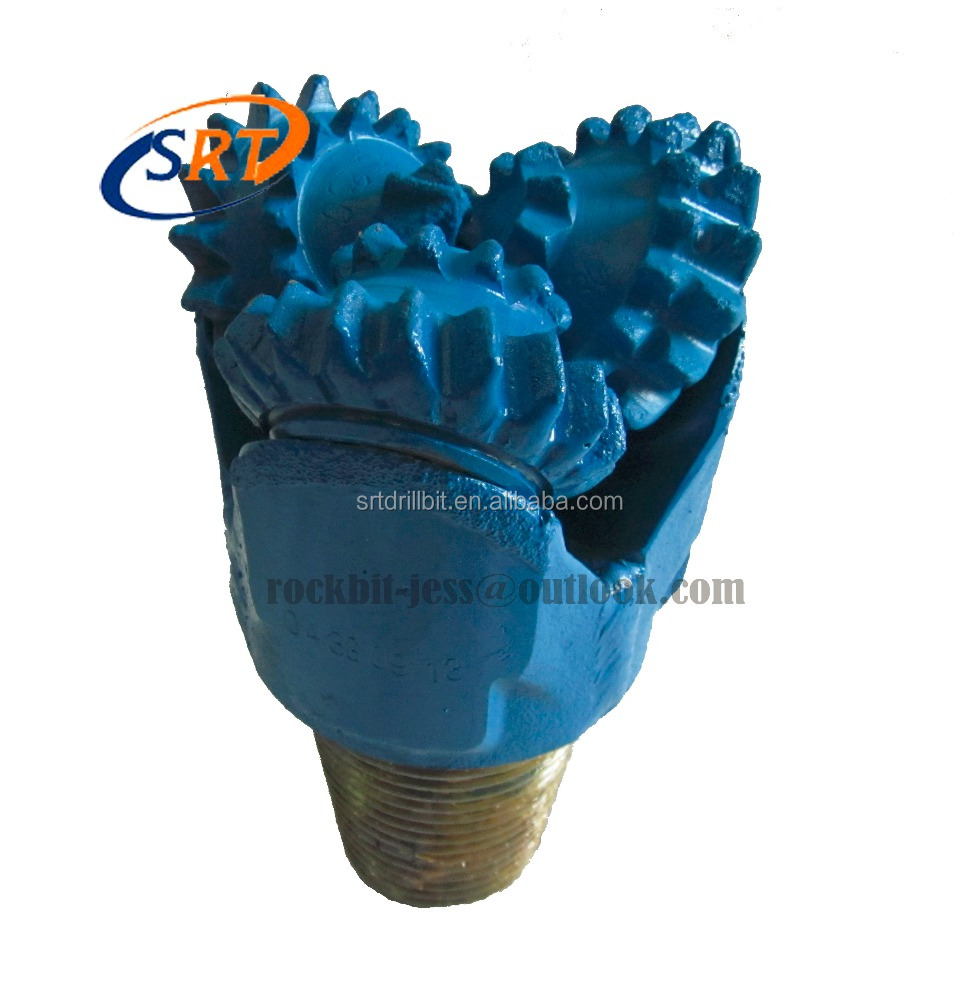 "API 4 1/8"" closed bearing steel tooth drill bits"