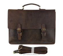 JMD New Arrival High Quality Crazy Horse Leather Bag Men's Briefcase Handbag #7223R-1
