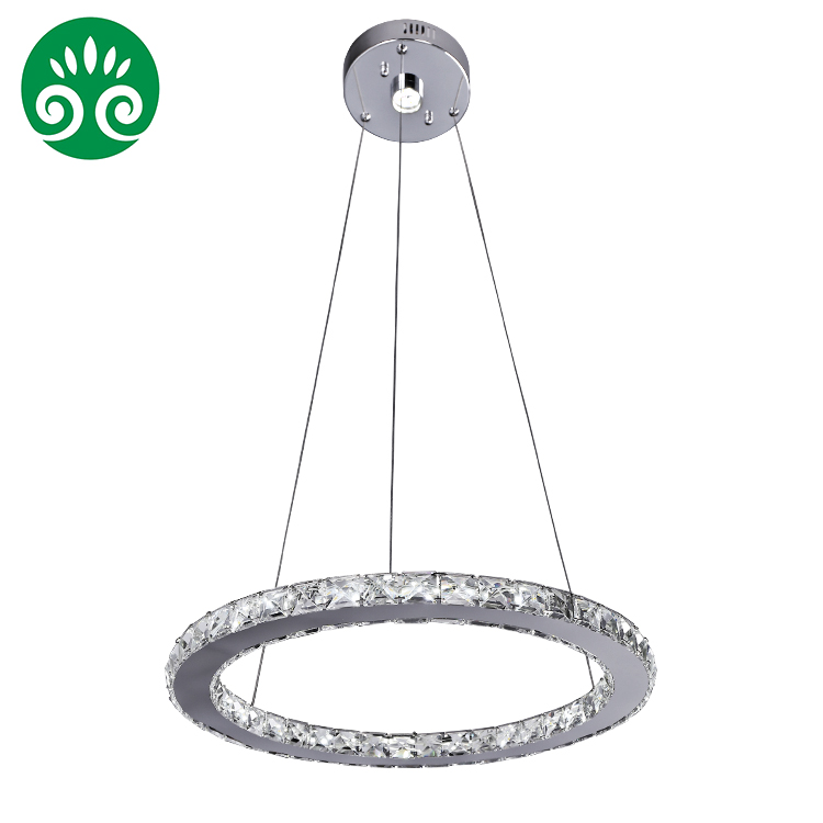 XingJun Contemporary sample 1 ring hand blown glass chandelier / led chandelier china