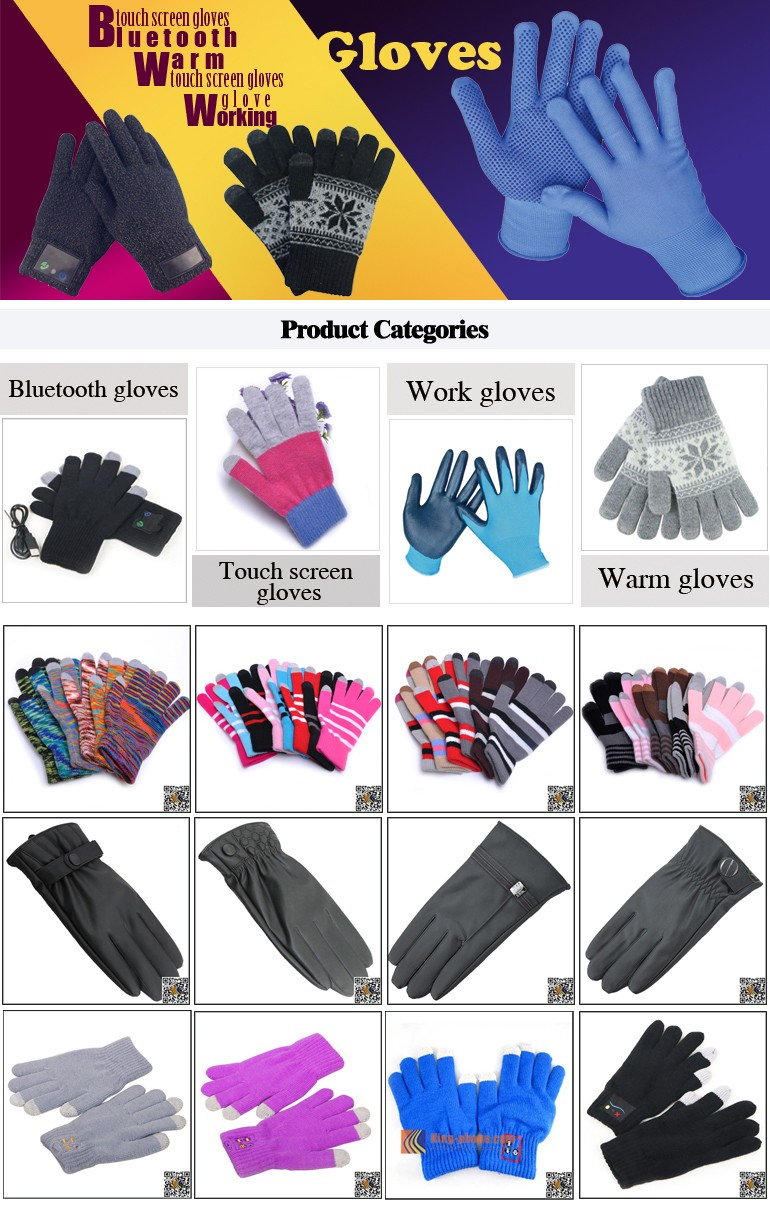 Thick knitting smartphone phone Touch Screen Gloves,thick smartphone gloves