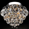 Modern special lamp fancy honeycomb led crystal ball ceiling light