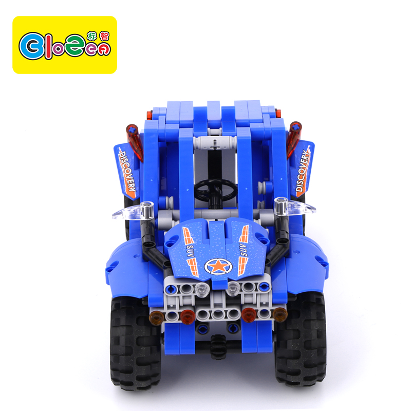 Factory Wholesale Kids Car Toys Construction Plastic Building Blocks Car