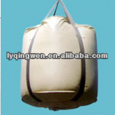 circular bag PP big bag, cross corner lifting belts,any color choose,UV treated