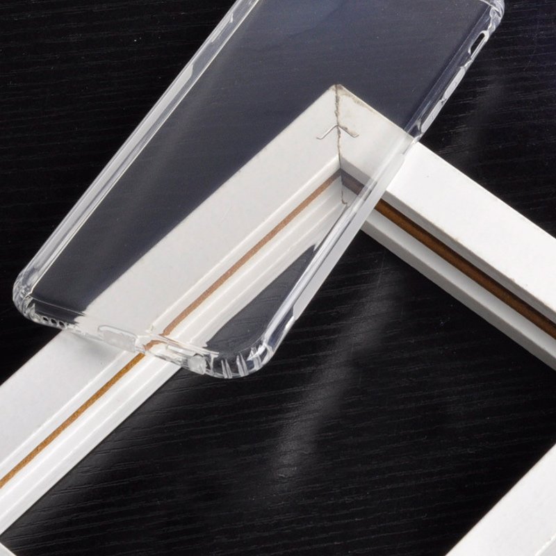 DFIFAN Free Sample Clear Shockproof Mobile Back Cover Transparent Soft Tpu Cell Phone Case For Iphone 6 8 7 7Plus