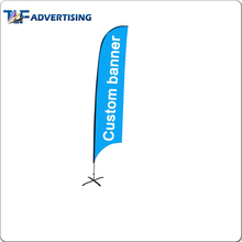 Swing banner flag feather flag/bow flag/flutter flag