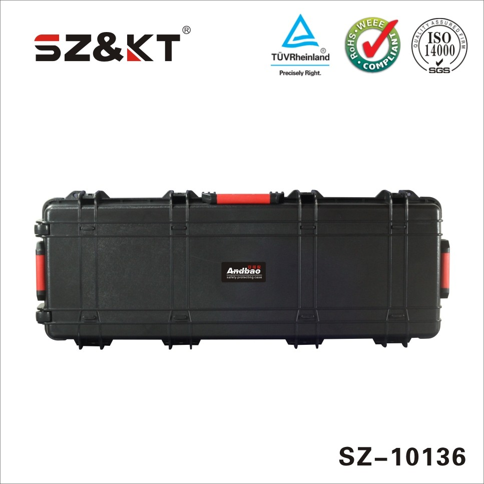 Hard ABS plastic waterproof protective tool case & equipment gun case