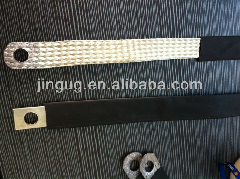 JINGU 20 Year's production, CE Certificate, win the tender flat braid wire type copper cable flexible connector in 2000A