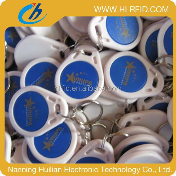 hot sales gyms/club passive rfid keyfobs