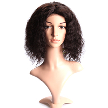 Angelbella Surplus Stock Hot Sale Brazilian Hair Cheap Deep Wave Wholesale Full Lace Human Hair Wig