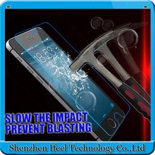 Tempered Glass Membrane Toughened Screen Guard + Cleaner for iPhone6 Plus