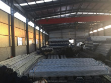 Hot dip galvanized steel tubes galvanized pipe greenhouse