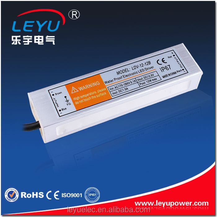 ip67 waterproof power supply 12w factory outlet led driver 700ma