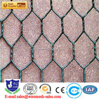 durable chicken cage PVC galvanized hexagonal wire mesh