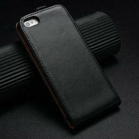 For iphone 5s leather case , fashion luxury design smooth genuine leather case for apples iphone 5s