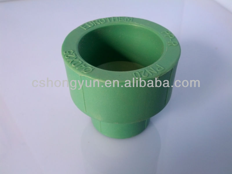 DIN German standard ppr pipe fittings reducing coupling for water supply
