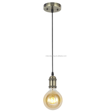 Vintage Hanging Pendant Light Kit Modern Decorative Industrial Retro Loft Ceiling Lamp Bronze for Bar Dining room Kitchen