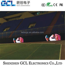 high resolution and brightness and super slim ,P6,P8,P10,p16 SMD or DIP advertising boards football