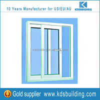 Latest top arch design pvc sliding best window replacement