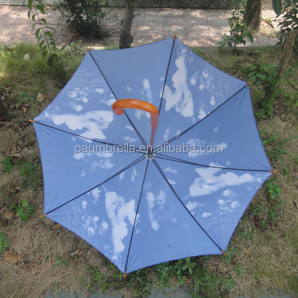 Wooden umbrellas for sale wooden sky blue pattern umbrellas poppy umbrellas