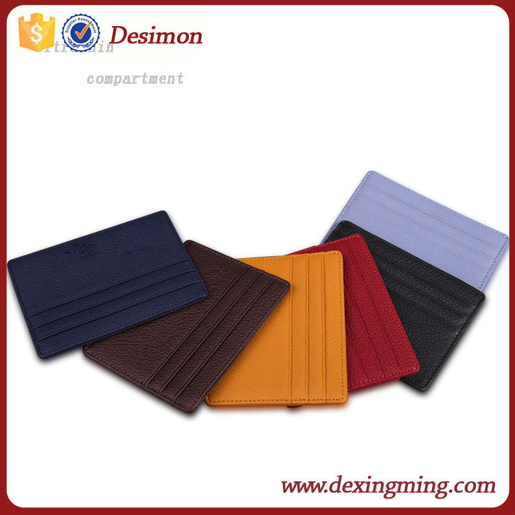 Real leather wholesale bulk business leather card holder for Bulk business card holders