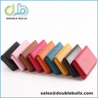 Custom High quality PU business card case women with fine magnetic suction