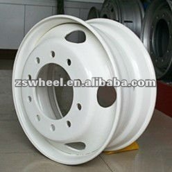 tubeless steel wheel rims 24.5x8.25 with factory direct sales