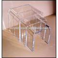 lucite nesting table-night stand-acrylic side table-FD1408032001