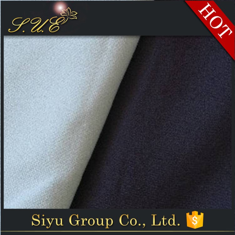 super soft 96% polyester 4% spandex elastic clothing fabric