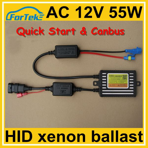 Newest fast bright canbus HID xenon ballast tested on all new cars 12V 55W 18 months warranty