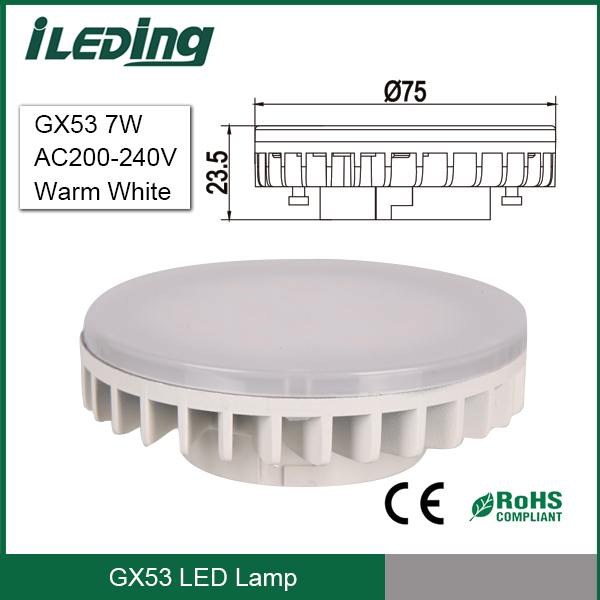 High Quality LED Cabinet Lights 7W GX53 LED Downlight
