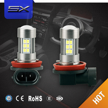 Hottest!!!High power led car bulbs 9005 hb3 9006 hb4 fh1 h3 h8 h11 h7 h4 880 881 Led fog light 10w COB