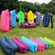Sofa Bed Lazy Waterproof Lounger Chair Fast Inflatable Camping Air Sleeping Bag CT023