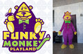 Supply Monkey custom mascot costumes