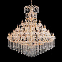 Large hotel project led candle pendant light chandelier made in zhongshan 81184