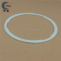 Customized Round White Silicone Rubber Gasket