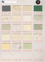 Uncut colorful mat boards for your artwork needs