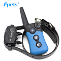 Ipets PET619-2 Rechargeable Beep Electric Shock Collar For Dogs With 300M Remote