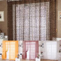 2016 Sheer Tulle Curtain Panels Modern Window Treatments Curtains for Living Room the Bedroom Embroidered Draperies