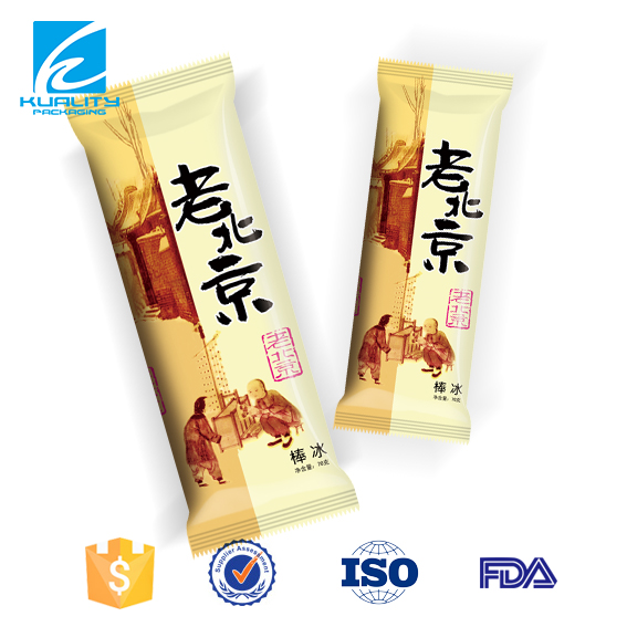 FASHION!!! Ice lolly packaging plastic bag wholesale in Guangdong