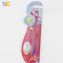 wholesale kids disposable toothbrush with toothpaste